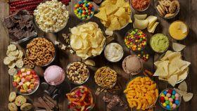 Unos snacks dulces y salados.