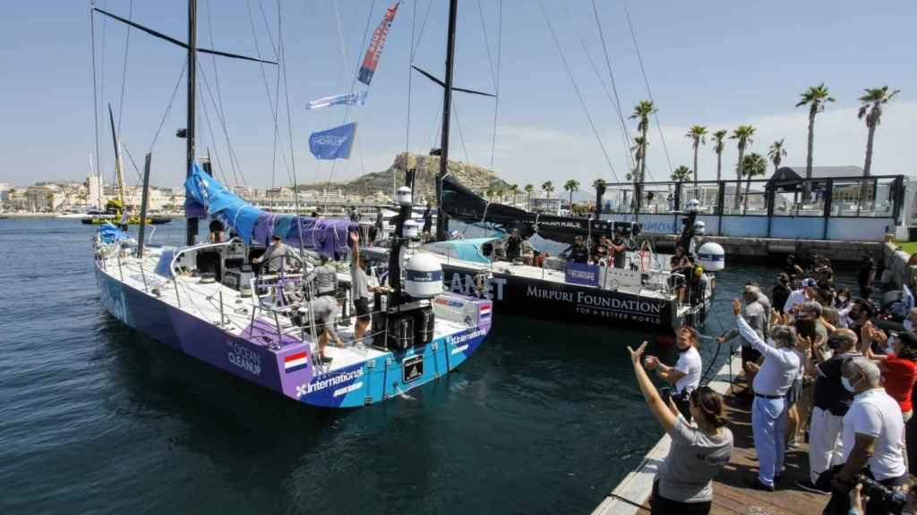 Alicante despide a los equipos de la Ocean Race Europe hasta el próximo año