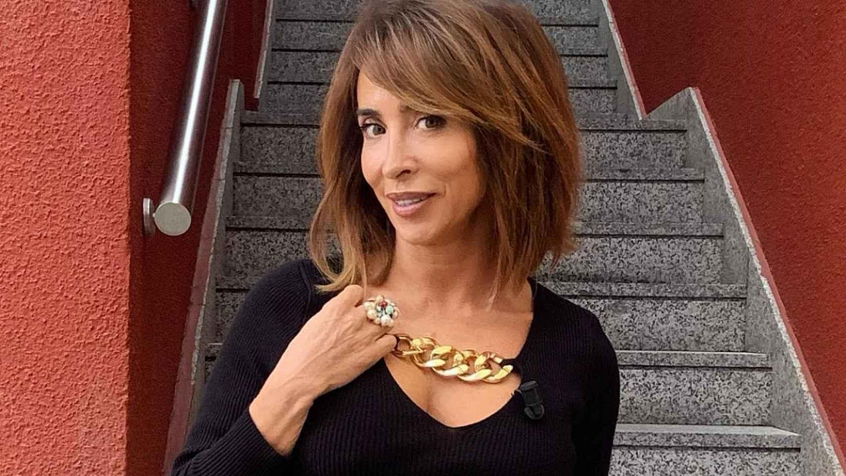 María Patiño, en una imagen compartida en su perfil de Instagram.