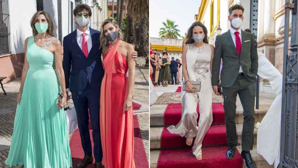 Paz Padilla acudió junto a su hija y su yerno, mientras que Gloria Camila lo hizo con su novio.