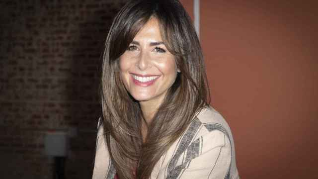 Nuria Roca, durante un evento en Madrid.