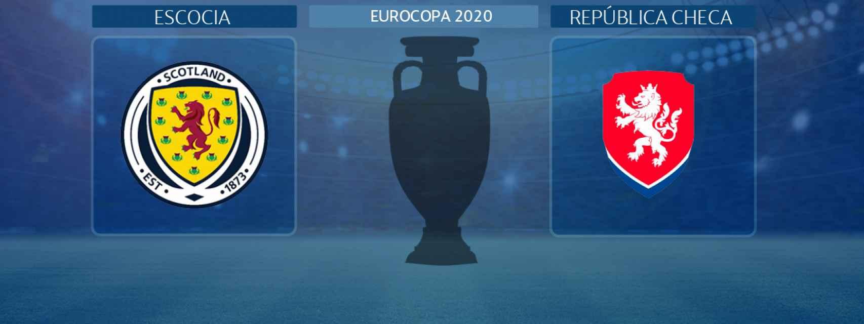 Escocia - República Checa, partido de la Eurocopa 2020