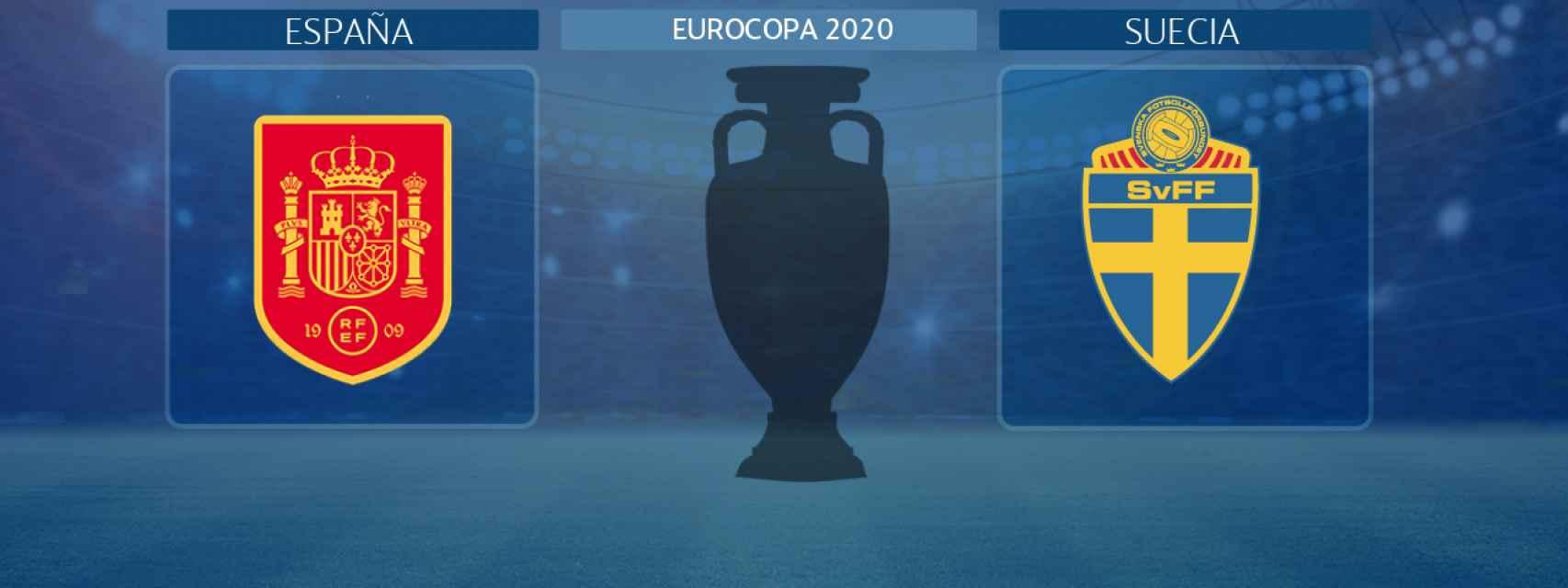 España - Suecia, partido de la Eurocopa 2020