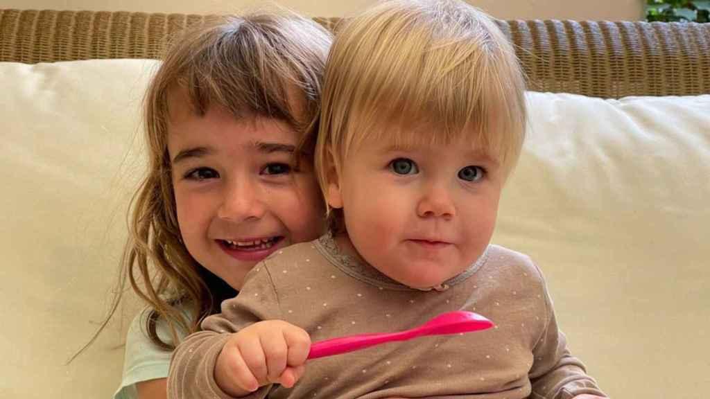 Olivia y Anna, las dos hermanas secuestras y asesinadas por su padre el pasado 27 de abril en Tenerife.