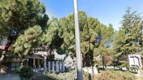 La zona donde se ha producido el suceso en el barrio de la Concepción (Madrid).