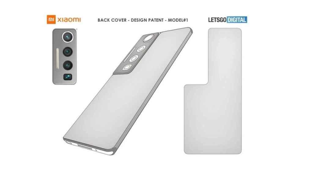 Xiaomi patente sensores grandes