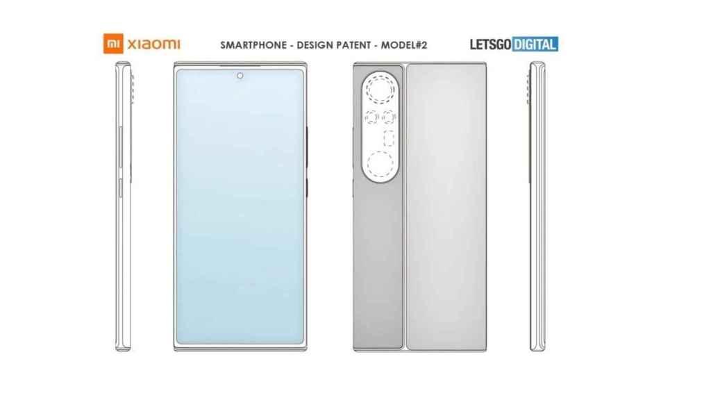 Xiaomi patente camaras grandes