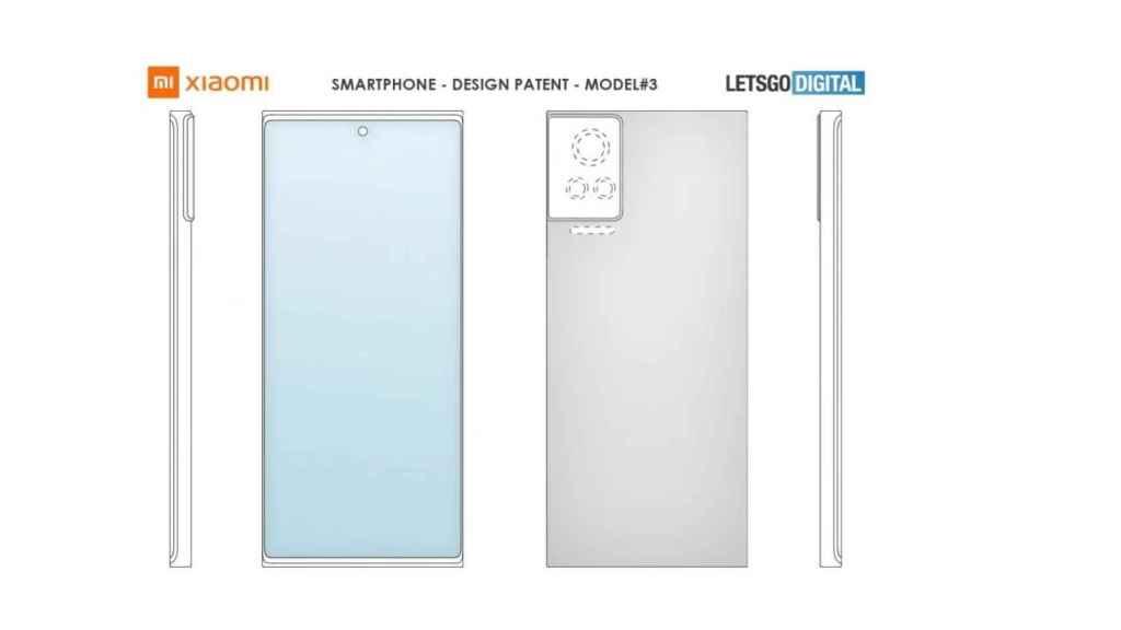 Xiaomi patente sensores