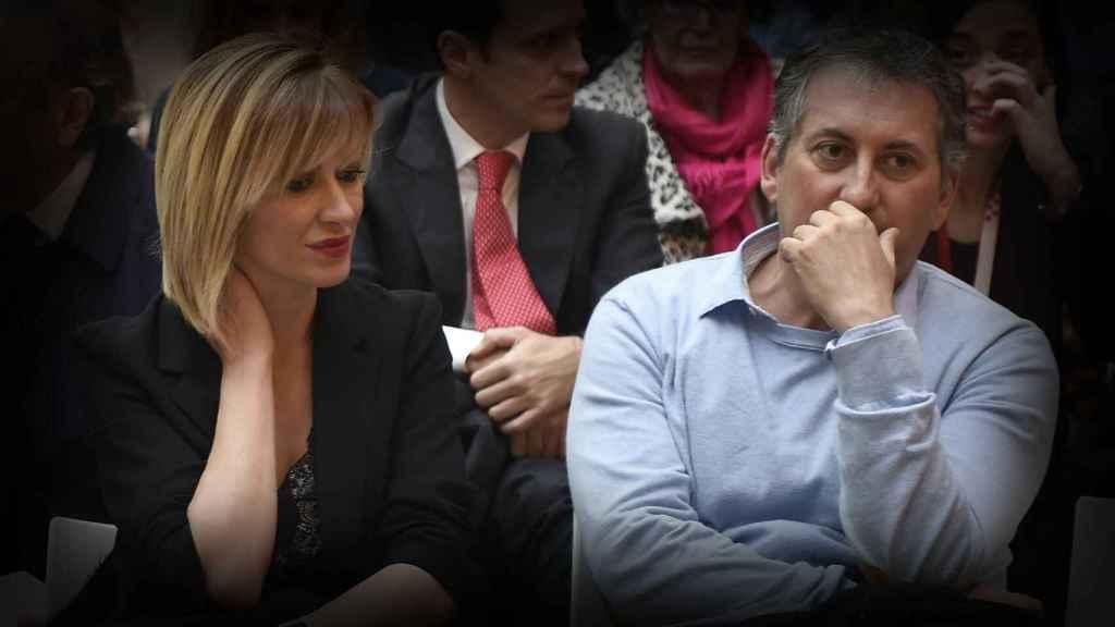 Susanna Griso y su marido en una imagen de archivo.