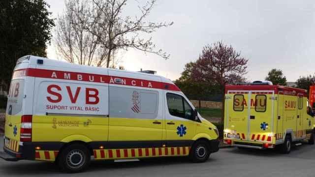 Ambulancias en funcionamiento actualmente en la Comunidad Valenciana.