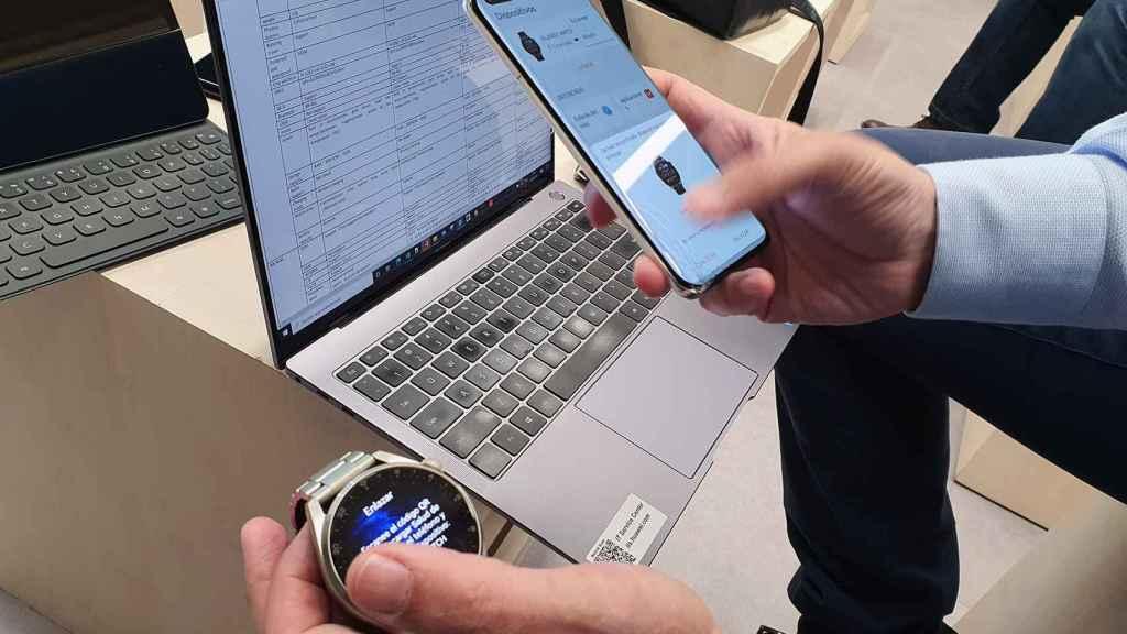 Conectividad entre dispositivos con HarmonyOS