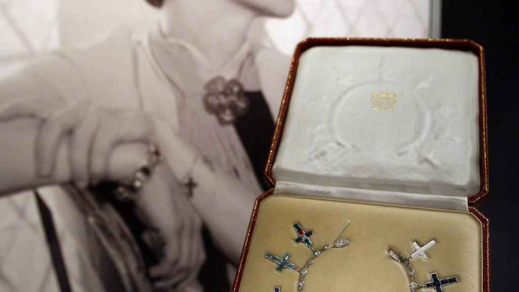 Detalle de la Wallis Simpson Bracelet.