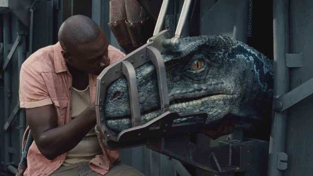 'Omar Sy' en la primera entrega de 'Jurassic World'