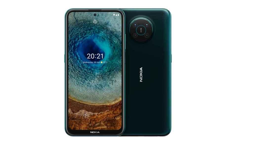 Nokia X10 verde