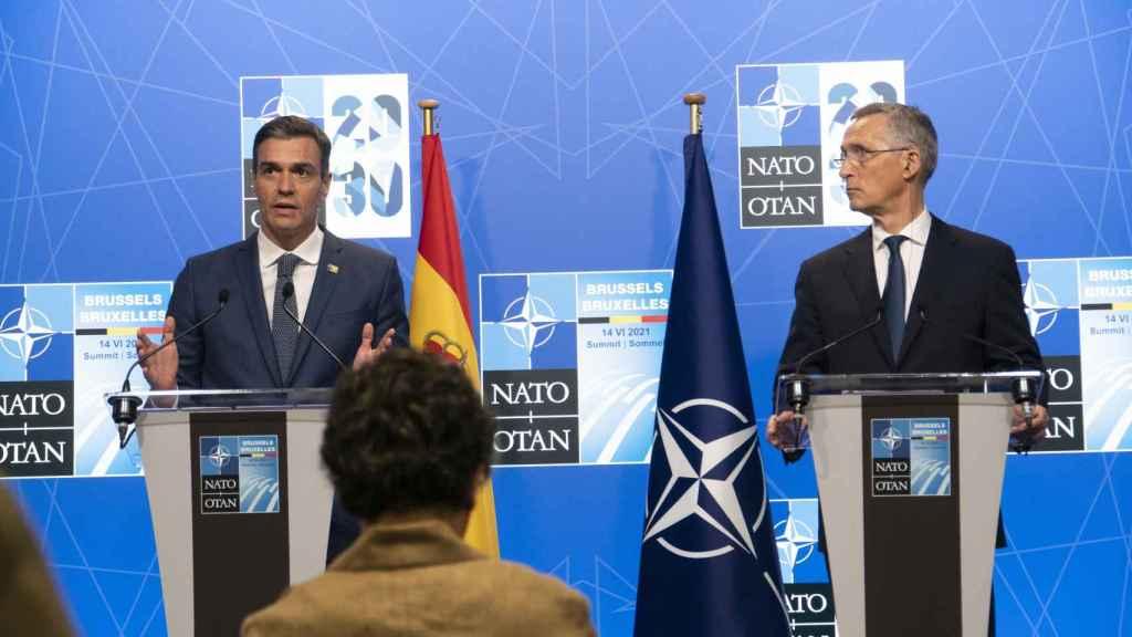 Pedro Sánchez y Jens Stoltenberg han anunciado que la próxima cumbre de la OTAN se celebrará en 2022 en Madrid