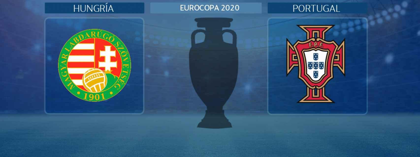 Hungría - Portugal, partido de la Eurocopa 2020