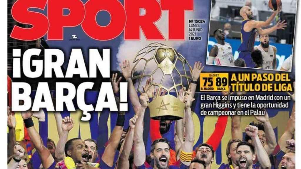 Portada Sport (14/06/21)