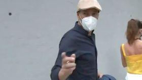 Zidane explota contra un periodista de Gol