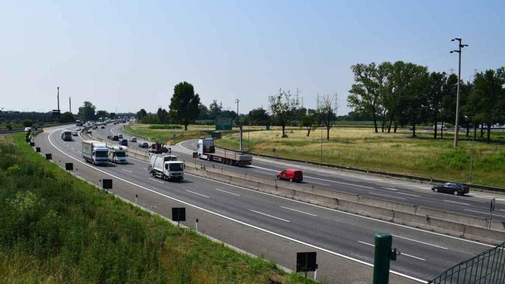 Tramo de una de las autopistas que se ha adjudicado Sacyr en Italia.