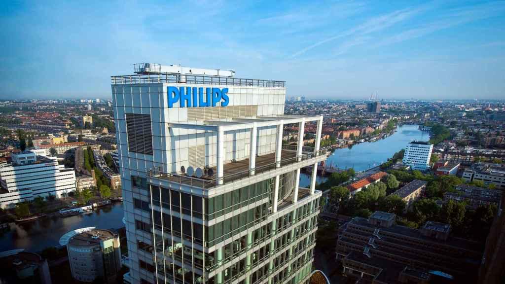 Instalaciones de Philips en Ámsterdam.
