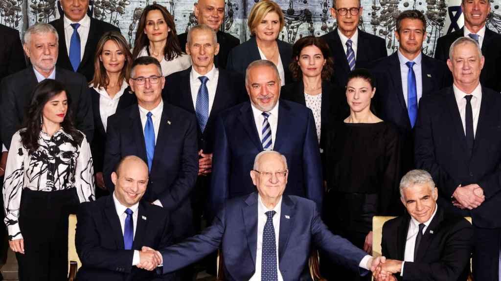 Los miembros del nuevo Gobierno.