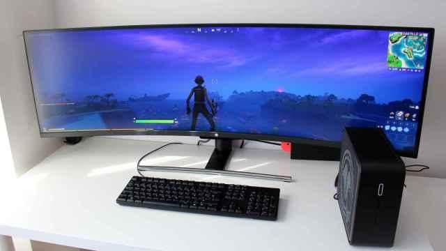 Monitor y torre de Millenium.