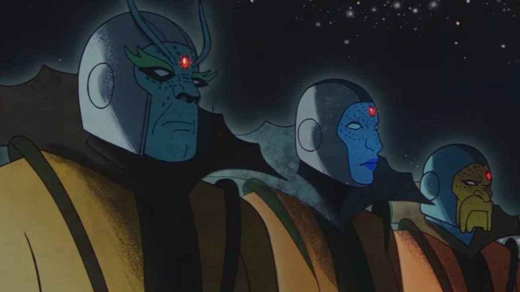 Los Guardianes del Tiempo ('Loki').