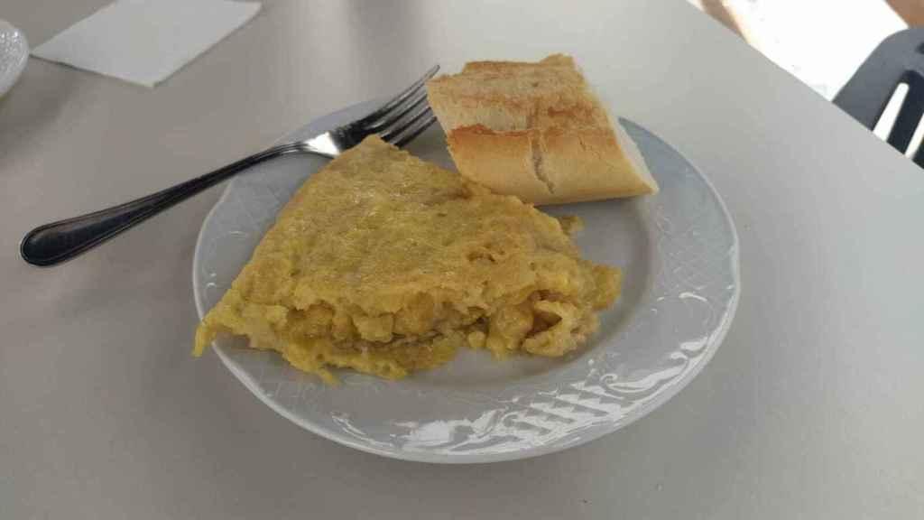 El pincho de tortilla de patatas de Sylkar.