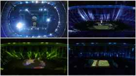 El homenaje a Diego Maradona con un espectacular holograma