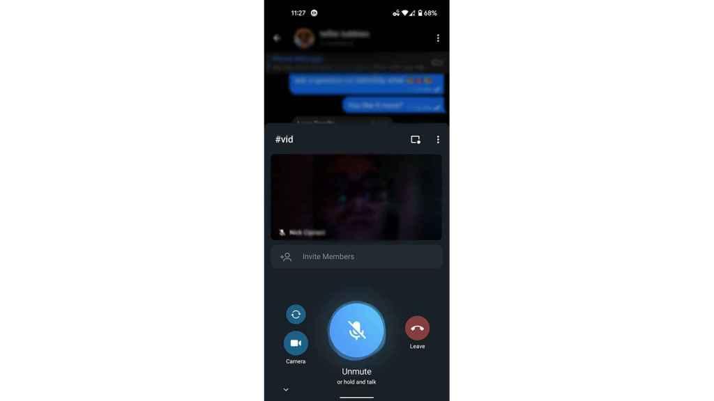 Nueva versión de Telegram en la beta