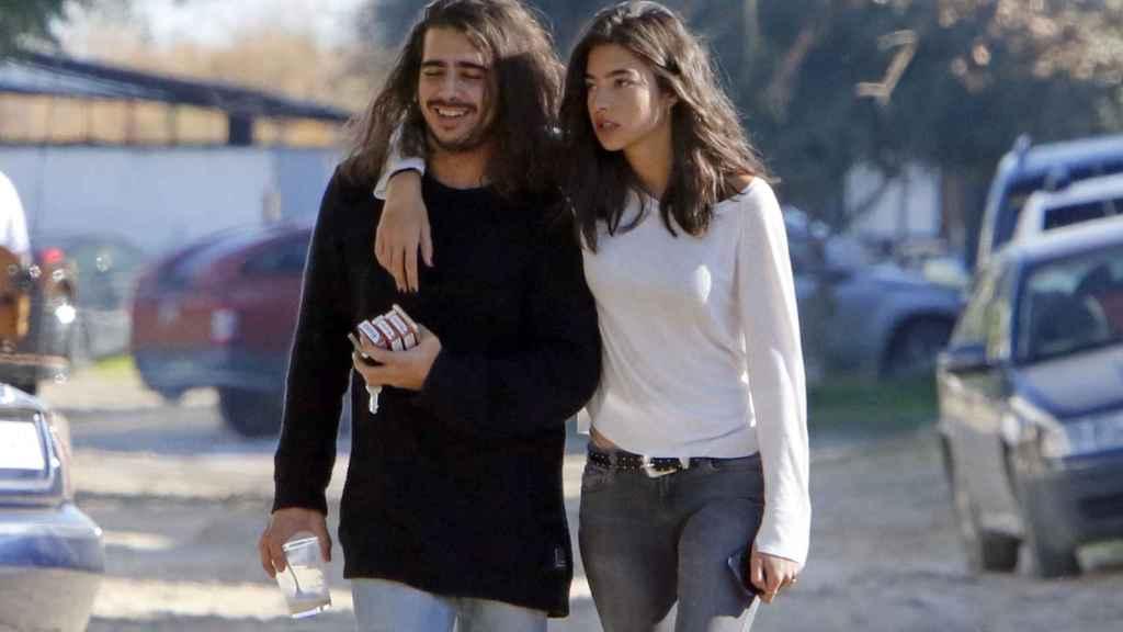 Alberto y Rocío Herrera en una imagen fechada en diciembre de 2016.