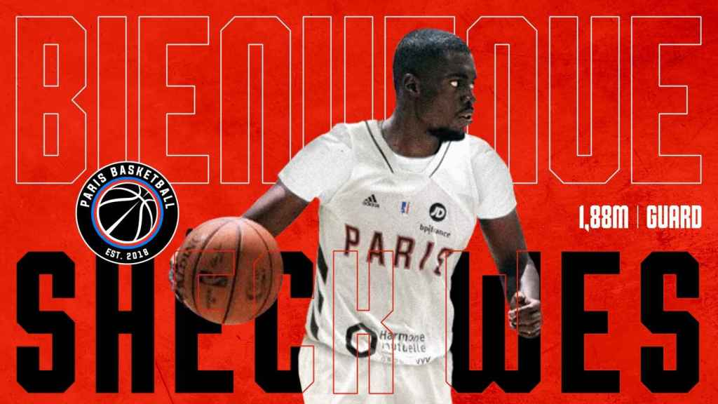 Sheck West presentado con Paris Basketball