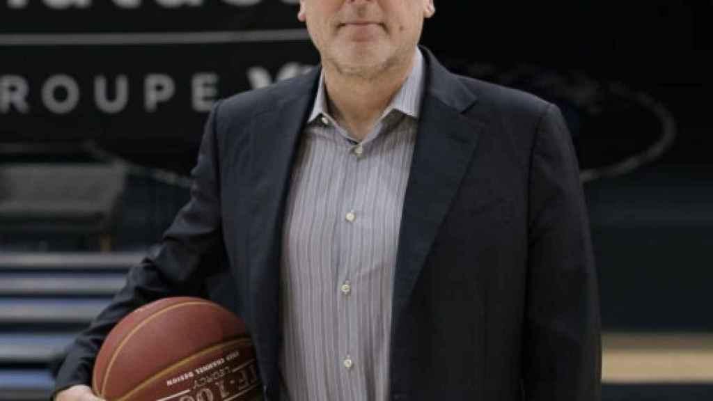 David Kahn, presidente y copropietario del Paris Basketball
