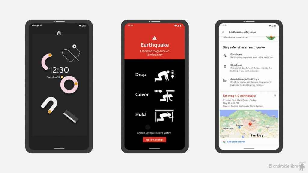 Sistema de alerta de terremotos en Android