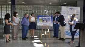 Presentación del cupón en apoyo al sector hostelero.