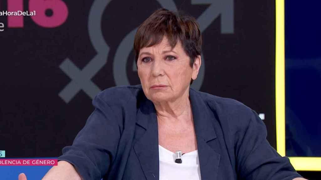 Celia Villalobos en 'La hora de La 1'.