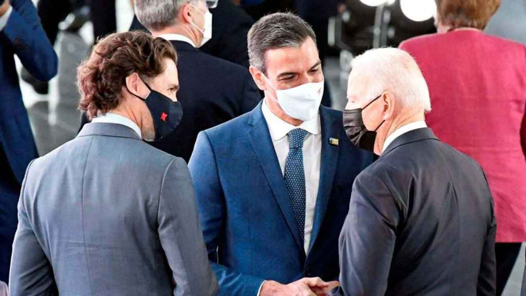 Vallés ha comentado el breve encuentro de Sánchez y Biden en la cumbre de la OTAN.