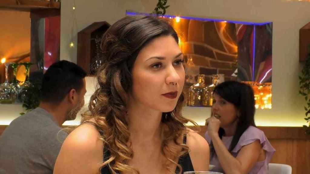 Krisztina Godbeer apareció en 'First Dates' el 18 de mayo.