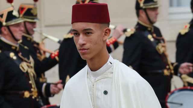 El príncipe Moulay Hassan de Marruecos.