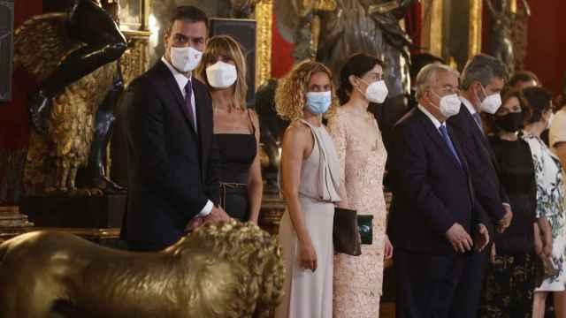 Todos los invitados a la gran cena de Estado de Felipe y Letizia en el Gran Salón de palacio
