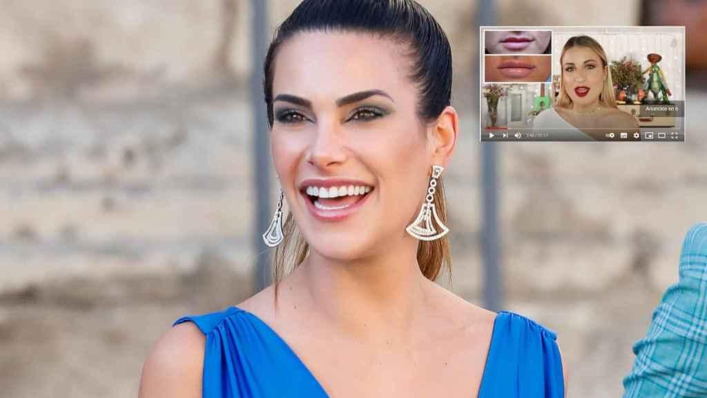 Carla Barber y la youtuber 'La shatunga' en un montaje de Jaleos