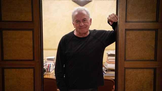 El cantante Víctor Manuel.