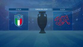 Horario internacional y dónde ver el Italia - Suiza de la Eurocopa 2020