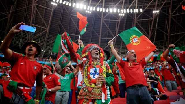 El fútbol vuelve a la normalidad durante la Eurocopa en Hungría: las imágenes de la esperanza en el partido ante Portugal