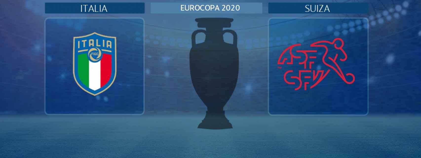 Italia - Suiza, partido de la Eurocopa 2020