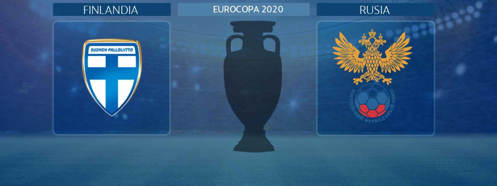 Finlandia - Rusia, partido de la Eurocopa 2020