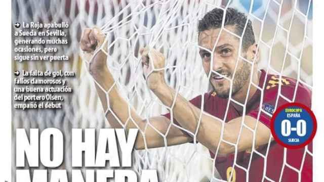 Portada Mundo Deportivo (15/06/21)