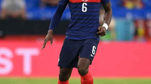Paul Pogba, en un partido de la selección de Francia en la Eurocopa 2020