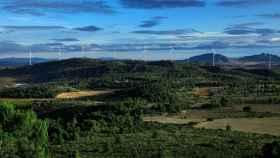 El parque eólico Sabina, en Albacete