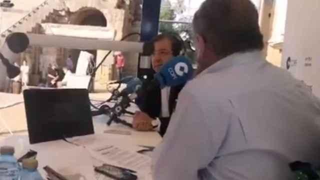 Guillermo Fernández Vara, en 'Herrera en COPE' este martes.